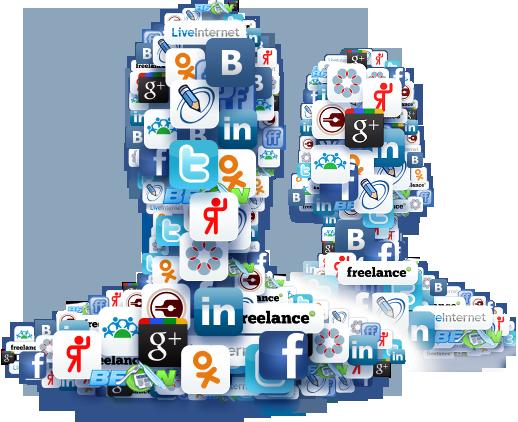 Продвижение сайтов с помощью социальных сетей