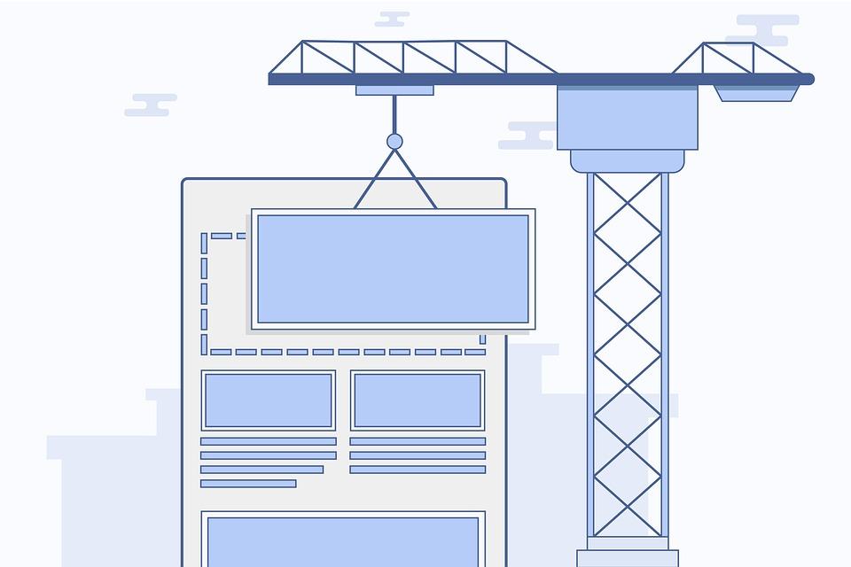 Ошибки в дизайне и структуре сайта.